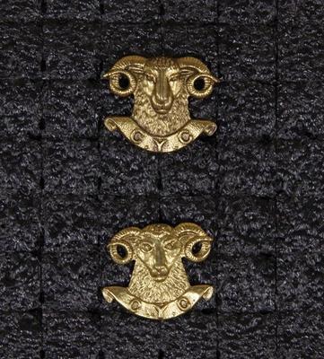 Collar badge – Canterbury Yeomanry Calvary