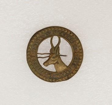 Hat badge – South African Army