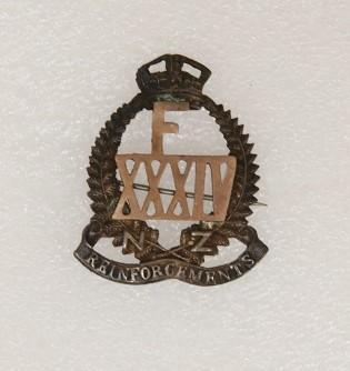 Badge – XXXIV Reinforcements