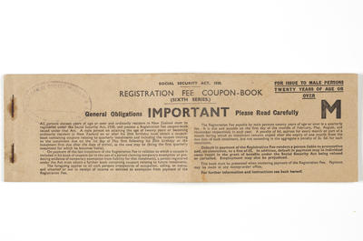 Coupon book - Social Security