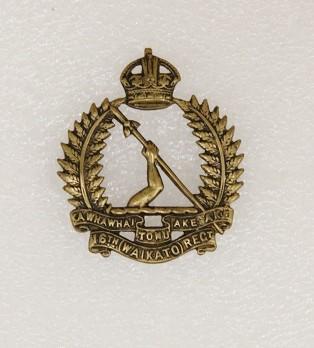 Badge – 16th Waikato Regiment