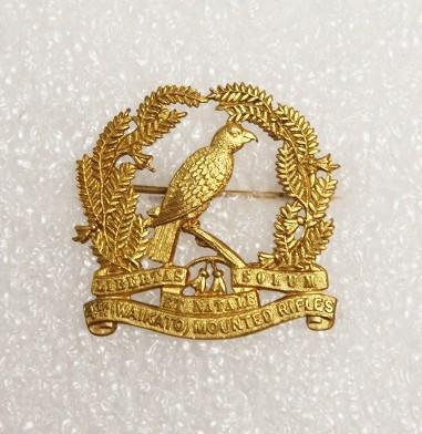 Badge – 4th (Waikato) Mounted Rifles, W.A.Gordon