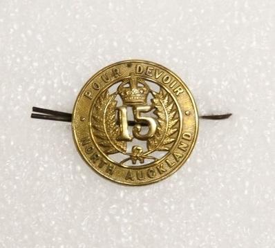 Badge – 15th (North Auckland) Regiment