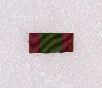 Ribbon bar – Afghanistan 1878–80
