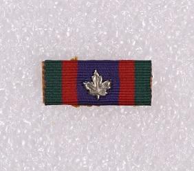 Ribbon bar – Canada Volunteer