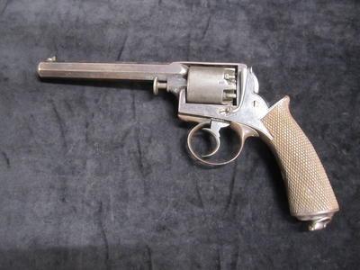 Adams 5 shot double action percussion revolver