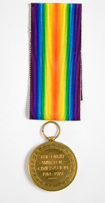 Victory Medal – WWI, W.R. Friar