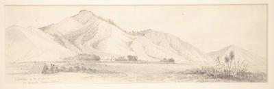Kaitotehi on the Waikato, Mr Ashwell's Mission Station