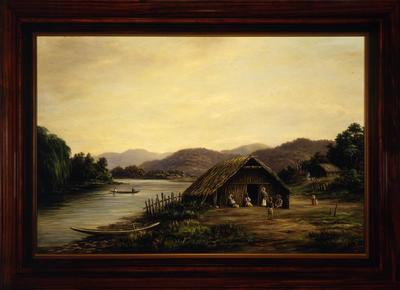 Maori Life, Waikato River
