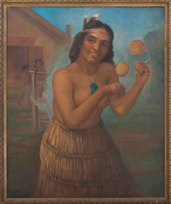 The Poi Dancer