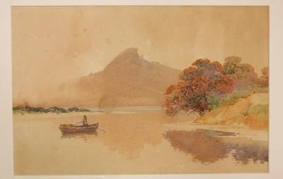 A River Inlet; Frank Wright; Circa 1905; 1970/170/1