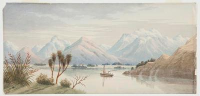 Untitled (Lake Wakatipu, Otago)