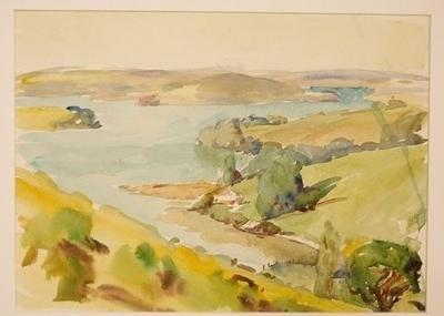 Untitled sketch (Coromandel Bays); Frank Wright; Unknown; 1978/2/2