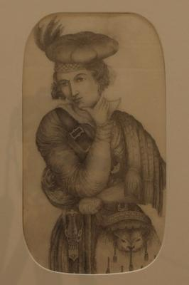 Untitled [young man in Scottish dress]