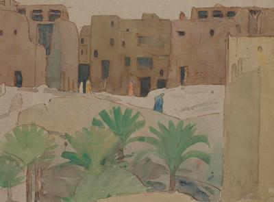 Village in the Desert – Morroco