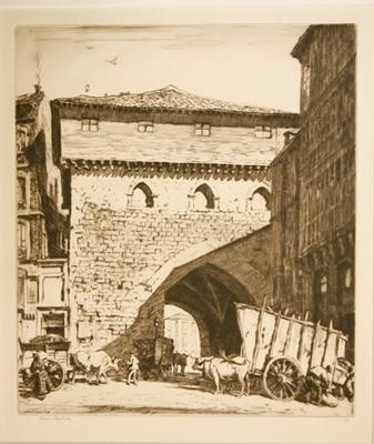 The Town Gate, Burgos
