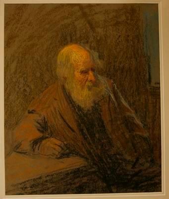 Portrait of Old Hermit