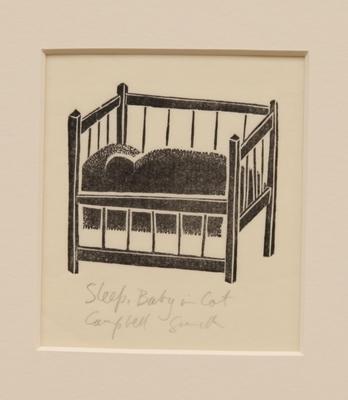 Sleep, Baby in Cot