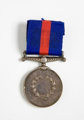 Medal – G. F. von Tempsky's New Zealand War Medal