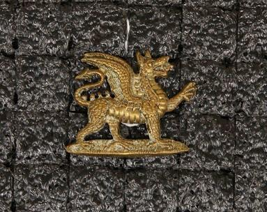Collar badge – East Kent Regiment