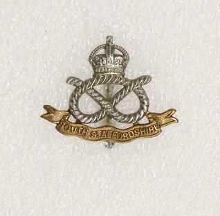 Hat badge – South Staffordshire Regiment