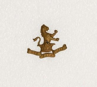 Collar badge – 17th Dragoon Guards