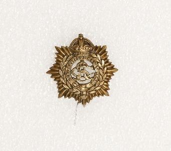 Hat badge – Army Service Corps