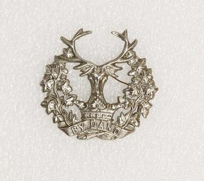 Hat badge – Gordon Highlanders