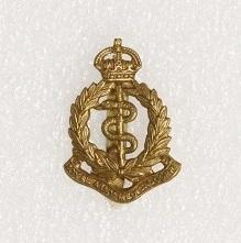 Hat badge – Royal Army Medical Corps
