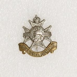 Hat badge – Notts & Derby Regiment