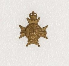 Collar badge – Notts & Derby Regiment