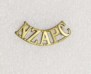 Badge – NZ Army Pay Corps shoulder flash