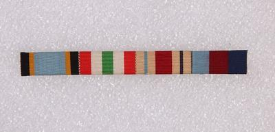 Ribbon bar – WWII medals