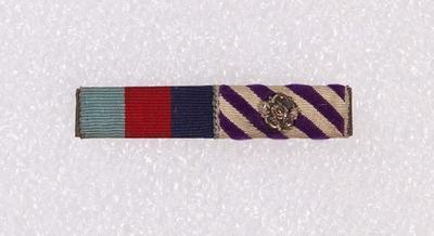 Ribbon bar – 1939–45 Star Medal and Distinguished Flying Medal
