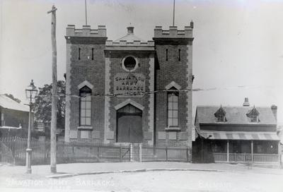 Photograph – Salvation Army Barracks, Balmain, New South Wales, Australia