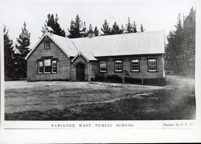 Photograph - Hamilton West Public School