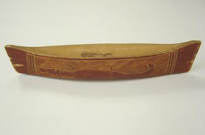 Canoe Australian Aborigine