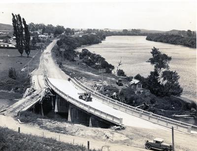 Photograph - Bridge over Mangawhara Stream, Taupiri