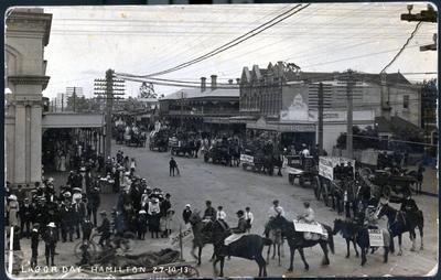 Postcard - Labour Day, Hamilton