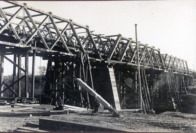 Photograph - Whatawhata Bridge, Hamilton.