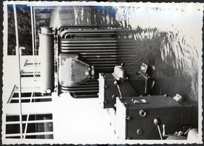 Photograph – Hamilton City Waterworks during 1958 flood