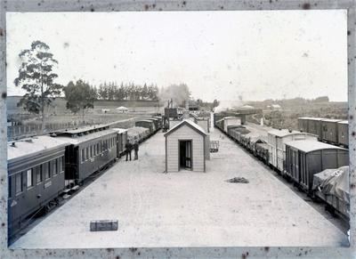 Photograph – railway station at Frankton Junction