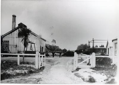 Photograph – Hamilton Gas Works
