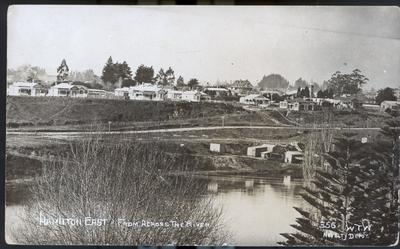 Postcard – Hamilton East from across the river