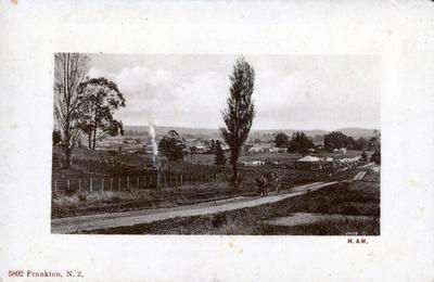 Postcard – Frankton, N.Z.
