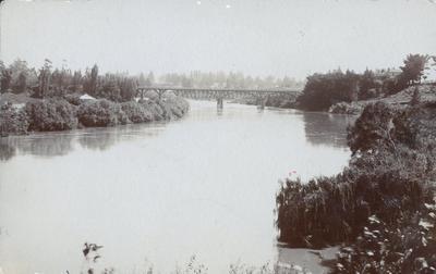 Postcard - Union Bridge, Hamilton