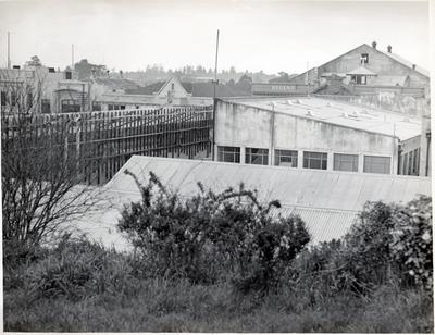 Front outlook from Mrs Jolly's house with Regent Theatre in background