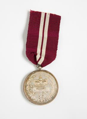 Medal – Long Sevice Captain, J. C. Holland
