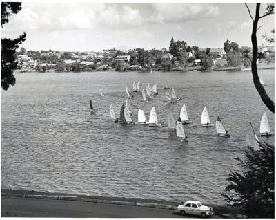 Photograph - Yachting at Hamilton Lake