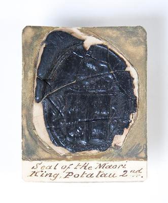 Seal of King Potatau Te Wherowhero